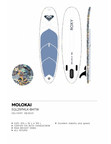 RX ISUP MOLOKAI 10´6 S21