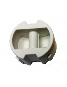 F34 Leash plug White